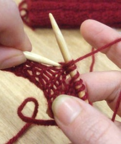 How to Pick Up a Dropped Stitch in Knitting - Video - For